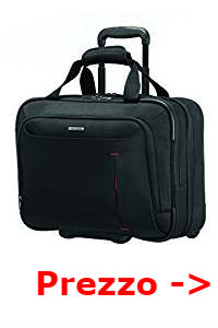 zaino samsonite trolley
